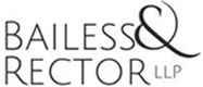 Bailess & Rector. LLP Header Logo